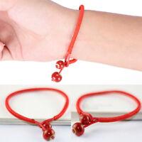 Lucky Bracelets Bead Red String Ceramic Woven Bracelet Charm Handmade Jewelry KW