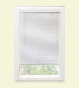 "Window Blinds Premium Mini Blind 1"" & 1 3/8"" Slat Vinyl/Aluminum Venetian Blinds"