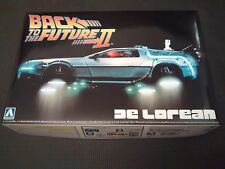 AOSHIMA 1/24 BACK TO THE FUTURE Part II DELOREAN PLASTIC MODEL KIT