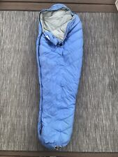 vintage TRAILWISE BERKELEY sleeping bag goose down slimline mummy Made USA