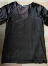 Belle Robe 100% soie doublée marron BA&SH Taille 3 soit 38/40 TBE