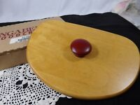 ***Longaberger 1998 Glad Tidings Lid -- red knob