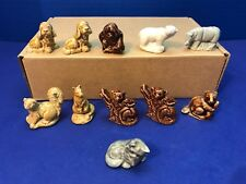 Red Rose Tea Wade Figurines Porcelain Animals Lot of 11 Squirrel Beaver Cat Dogs