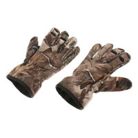 3 Foldable Fingers Shooting Hunting Gloves Tactical Fishing Gloves S M L