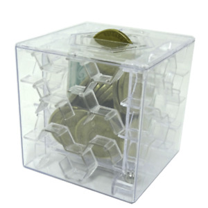 Clear Money Maze puzzle gift box