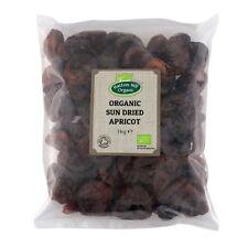 Organic Sun Dried Apricots 1kg Certified Organic