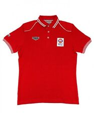 New GRAND PRIX ORIGINALS Speed GPO Gulf Red Polo Shirt Size S-L Le Mans Japan