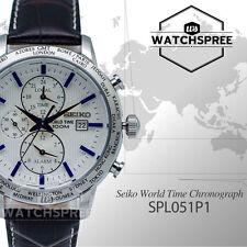 Seiko World Time Chronograph SPL051P1