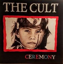 """The Cult """"Ceremony' Album Flat Poster Suitable for Framing Mint! 1991"""