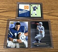 Peyton Manning Rookie and Material Card Lot