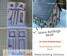 NS09 Stone Building Mould - Model Railway Scenery - ScaleCast - OO Gauge