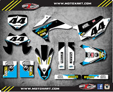 Honda CRF 150 F 2015 - 2017 Custom Graphic kit EURO style decals / stickers