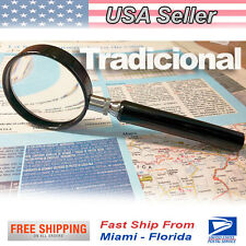 Traditional Magnifier with Glass Lens 4 X - LU1 GERMANY