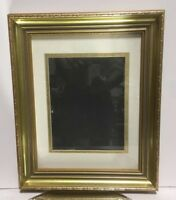 "Picture Frame With Matting and Glass Fits 11""x 14"""