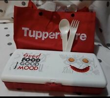 💕Tupperware Sandwich keeper plus Good Food Good Mood with bag Brand New💕