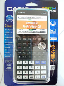 BRAND NEW CASIO FX-CG50 High-Resolution 3D Color Graphing Calculator, Python