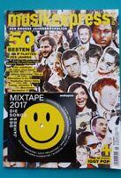 Musikexpress Januar 2018 mit Mixtape 2017 die Songs d. Jahres ungel. 1A abs TOP