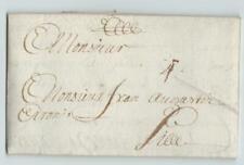 France 1683 letter DUNKERK (DUNKERQUE)  to LILLE