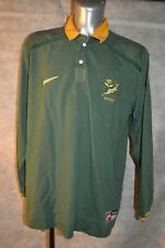 ANCIEN MAILLOT RUGBY NIKE AFRIQUE DU SUD SA RUGBY TAILLE  XXL ANNEE 1997-1999