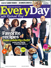 EveryDay With Rachael Ray Magazine April 2015 Favorite Recipes EX 052616jhe