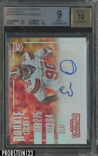 2016 Contenders Rookie Ticket Cracked Ice Emmanuel Ogbah RC AUTO 11/24 BGS 9