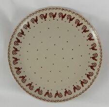 Bunzlauer Keramik Teller, Essteller, Kuchenteller, ø27cm, Dekor KOGB, T136,Hähne