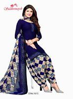 New Trendy Suit Shalwar Kameez Unstitched Synthetic Punjabi Suit Indian Ethnic