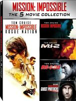 cofanetto+5 dvd nuovi Mission:Impossible 1-2-3-rouge-Movie Collection-vers italy