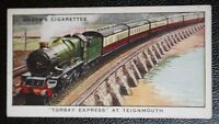 Great Western Railway    Torbay Express   Teignmouth   Original Vintage Card