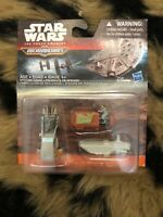 STAR WARS ~The Force Awakens Micromachines B3504~(3 PC) Landspeeder Transporter