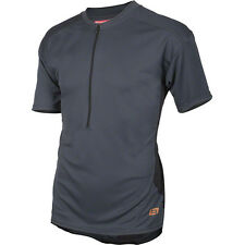 Bellwether Men's Sedona Short-sleeve Cycling Jersey Titanium Large