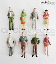 8x Modelo Figuras,de Pie,para La Construcción Del Modelo 1:25,