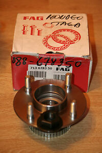 Rear Wheel Bearing Kit Ford Mondeo MK1 MK2 Cougar Fiesta VAN FAG 713678350