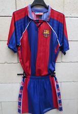 VINTAGE Maillot + Short BARCELONE BARCELONA camiseta kit ancien années 80 L