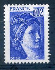 FRANCIA 1980 2c Marianne AN TIMBRO Nuovo di zecca
