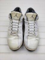 Nike Air Jordan Basketball Retro XII.V White Gray 318411-101 Mens Size 10.5