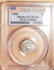2006 $10 Platinum Eagle, 1st Strike Coin, PCGS MS69, Lustrous Superb Gem