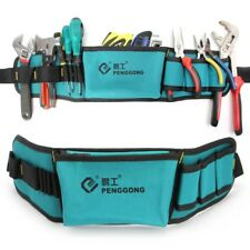 Multifunctional Power Tools Waist Bag Oxford Waterproof Pocket Kit with Belt