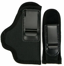 RH INSIDE PANTS IWB CONCEALMENT HOLSTER with MAG HOLDER for GLOCK 19, 23, 32