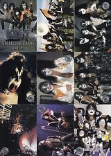 KISS SERIES 2 1998 CORNERSTONE COMMUNICATIONS COMPLETE BASE CARD SET OF 90 MU