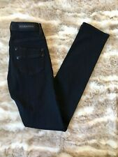 Rock & Republic Womens Berlin Black Skinny Jeans Size 0 High Rise Stretch