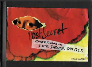 PostSecret: Confessions on Life, Death, and God by Frank Warren 2009, Hardcover