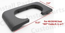 Center Console Cup Holder Replaces Pad Light Flint Grey Fits Ford F250 350 99-10