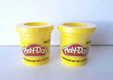 Yellow Play-Doh Modeling Clay, TWO 3 oz Cans (6 oz) Play Dough Compound * NEW *