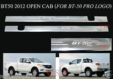 SCUFF PLATE SILL DOOR STAINLESS STILL COVER FOR MAZDA BT 50 OPEN SPACE EXTRA CAB