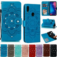 Bling Mandala Wallet Leather Flip Case Cover For Xiaomi Redmi Note 8T Note 8 7A