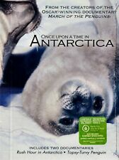 NEW DVD- ONCE UPON A TIME IN ANTARCTICA - 2 GREAT DOCUMENTARIES SEE DETAILS