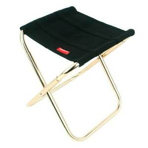 Portable Small Folding Chair Outdoor Camping Fishing Picnic Seat Stool&Bag UK