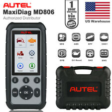 Autel MD806 OBD2 Auto Diagnostic Engine ABS SRS Airbag SAS BMS EPB DPF Scan Tool
