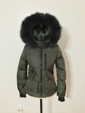 Women's SAM. New York Fur Jet Set Jacket, X-Small, Military/Charcoal